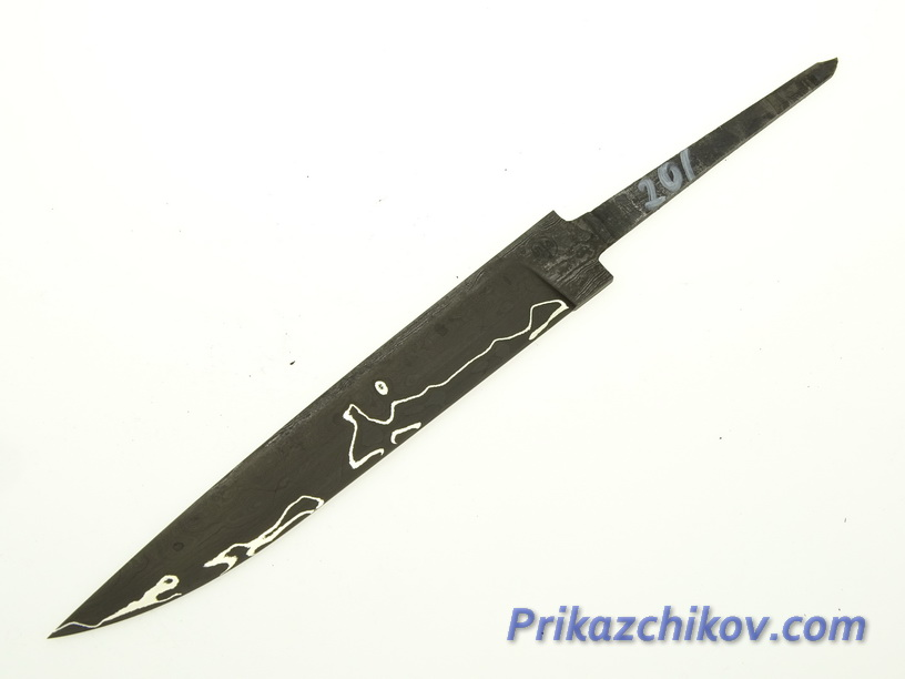 Клинок для ножа из ламинированной стали N 201