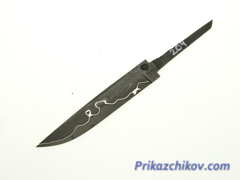 Клинок для ножа из ламинированной стали N 204