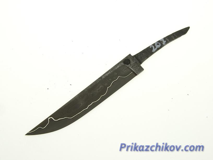 Клинок для ножа из ламинированной стали N 207