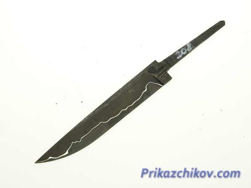 Клинок для ножа из ламинированной стали N 208