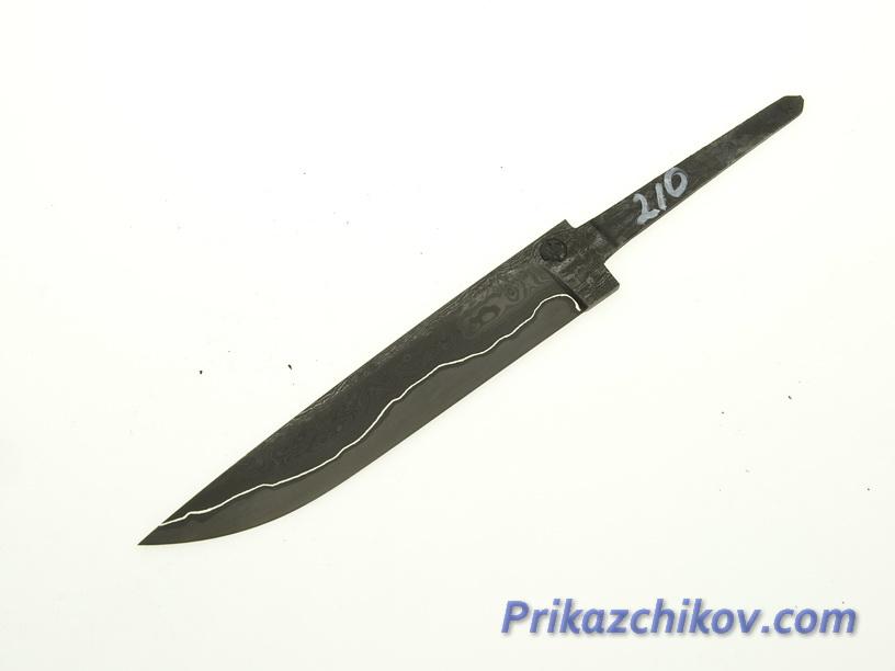 Клинок для ножа из ламинированной стали N 210