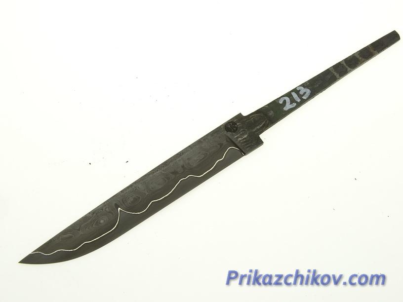 Клинок для ножа из ламинированной стали N 213