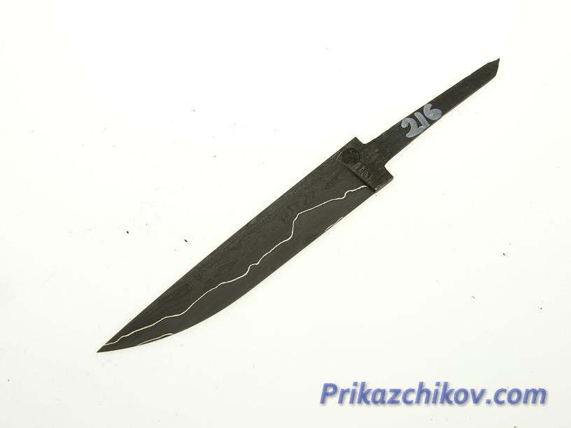 Клинок для ножа из ламинированной стали N 216