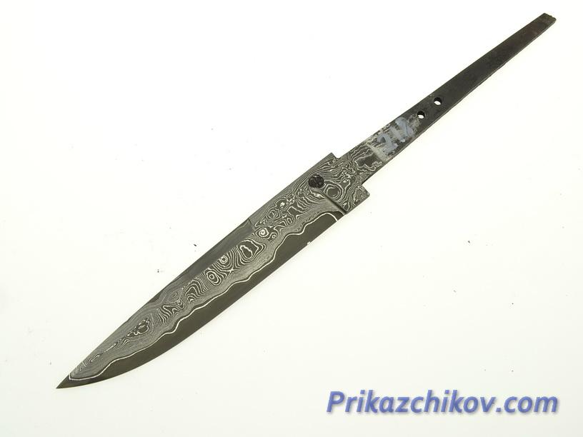Клинок для ножа из ламинированной стали N 218