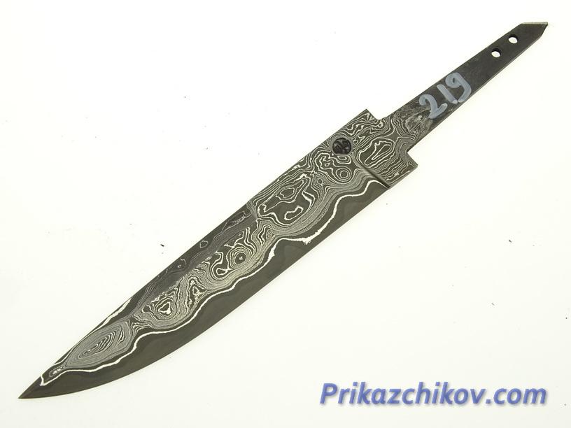 Клинок для ножа из ламинированной стали N 219