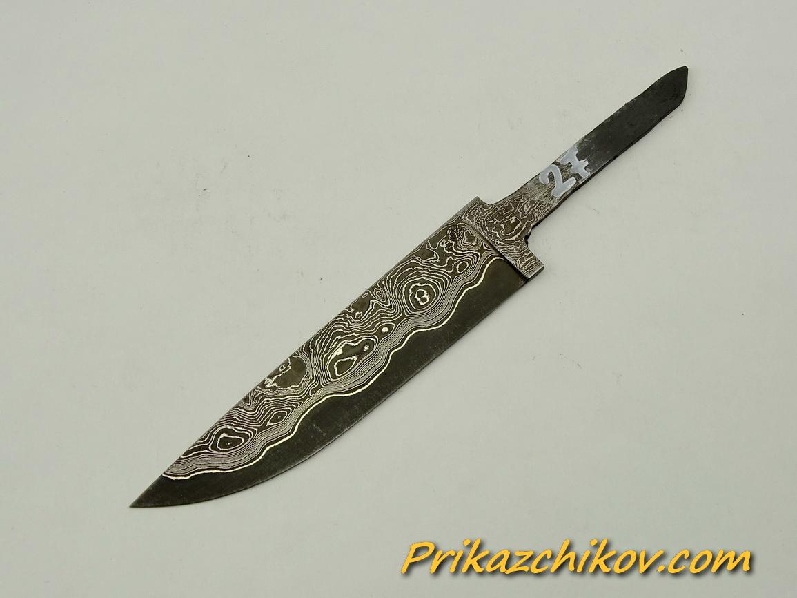 Клинок для ножа из ламинированной стали N 27