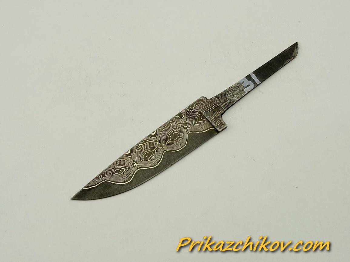 Клинок для ножа из ламинированной стали N 31