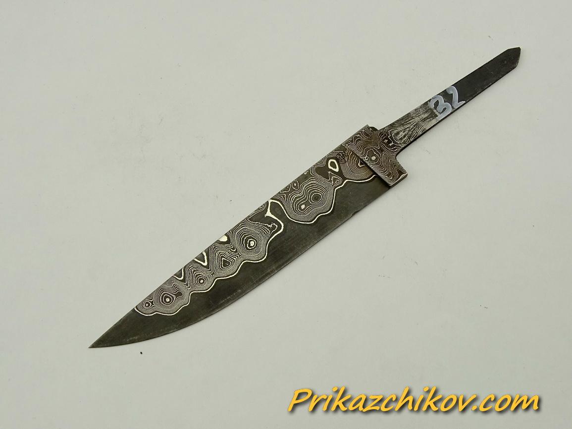 Клинок для ножа из ламинированной стали N 32