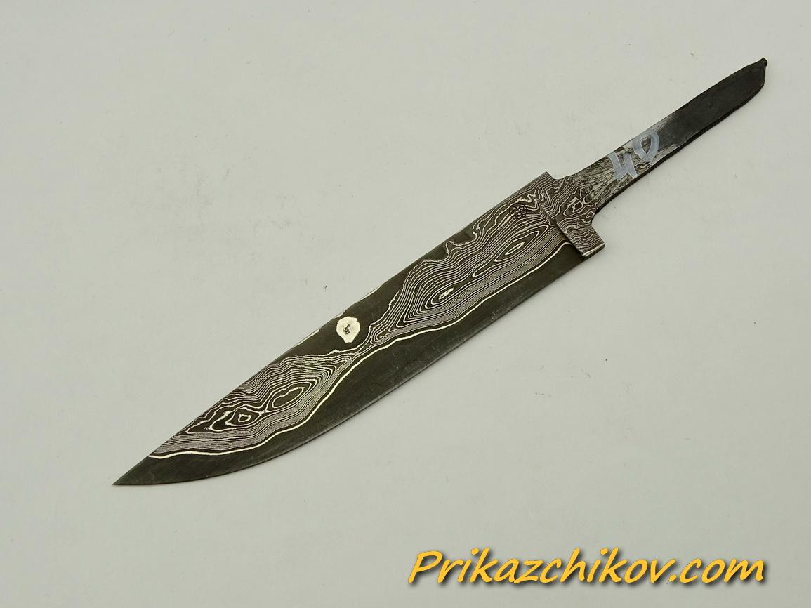 Клинок для ножа из ламинированной стали N 40