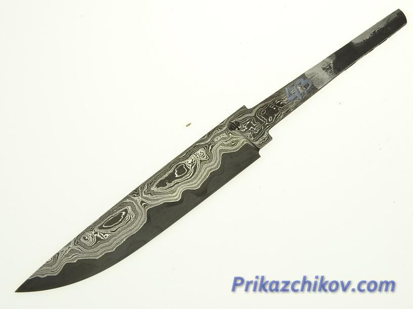 Клинок для ножа из ламинированной стали N 43