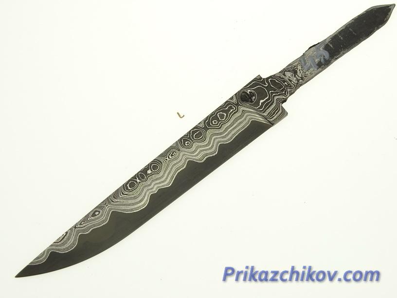 Клинок для ножа из ламинированной стали N 45