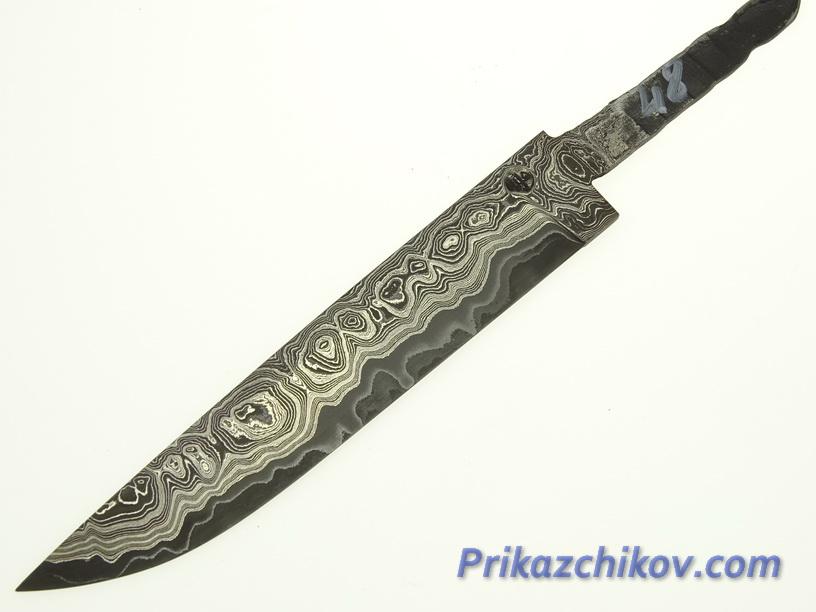 Клинок для ножа из ламинированной стали N 48