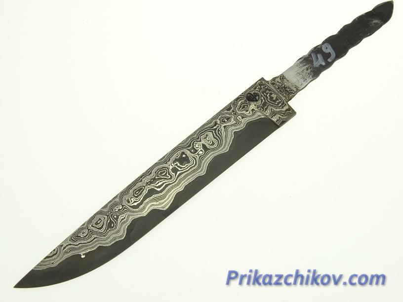 Клинок для ножа из ламинированной стали N 49