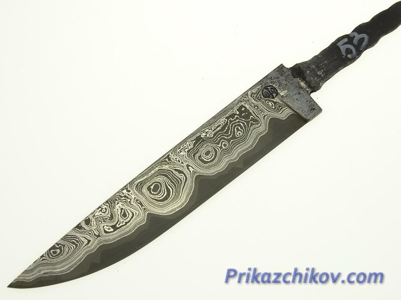 Клинок для ножа из ламинированной стали N 53