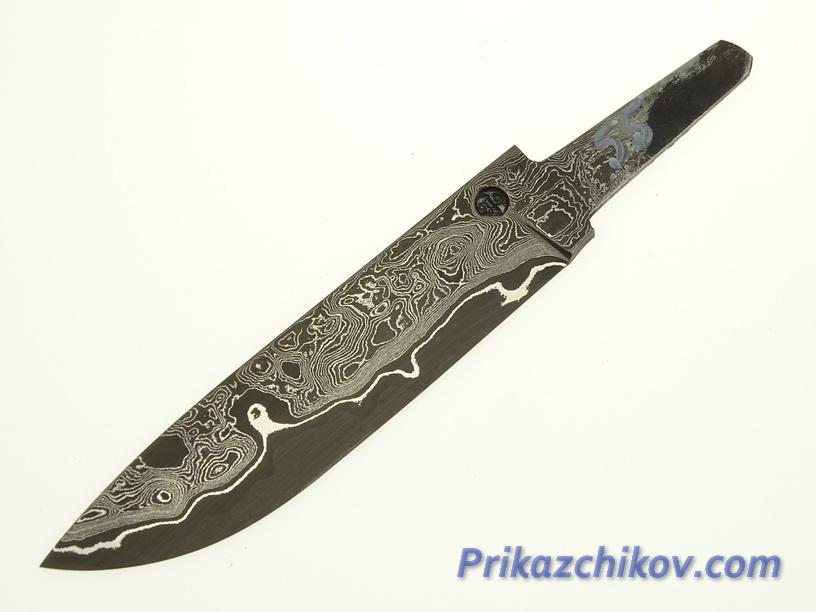 Клинок для ножа из ламинированной стали N 55