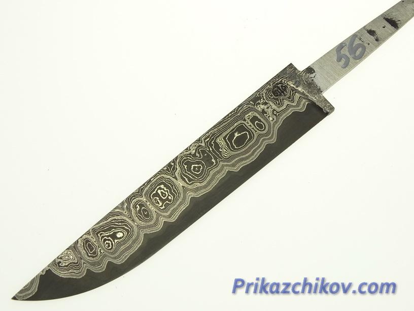 Клинок для ножа из ламинированной стали N 56