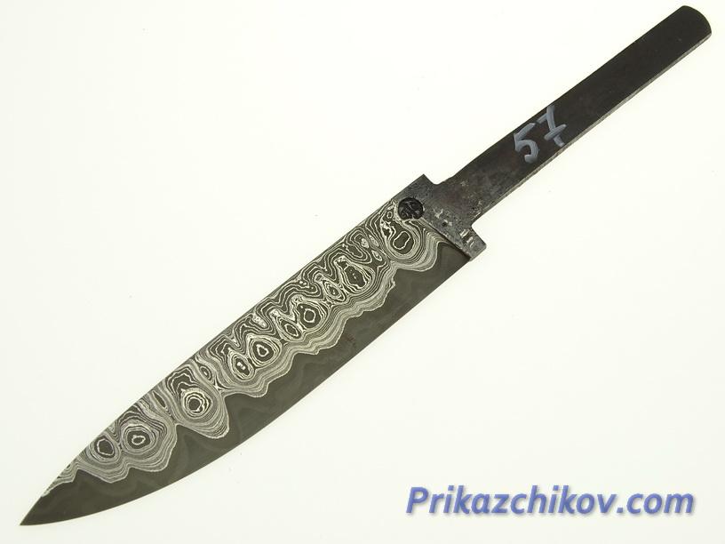 Клинок для ножа из ламинированной стали N 57