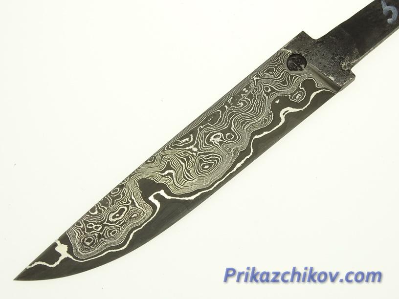 Клинок для ножа из ламинированной стали N 58