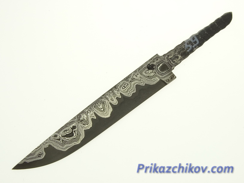 Клинок для ножа из ламинированной стали N 59