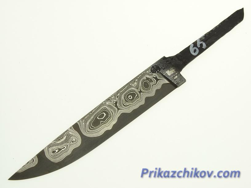 Клинок для ножа из ламинированной стали N 65