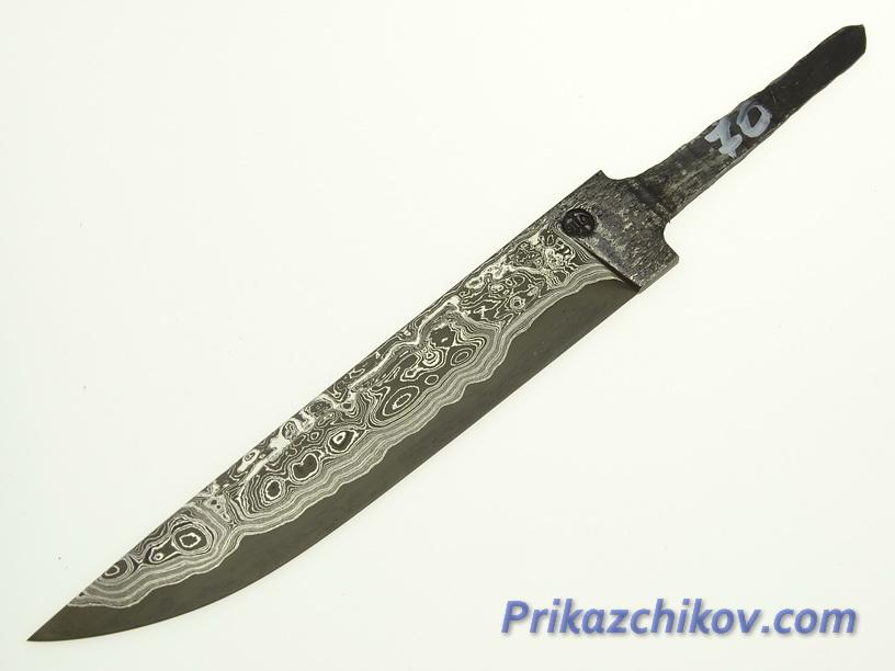 Клинок для ножа из ламинированной стали N 70