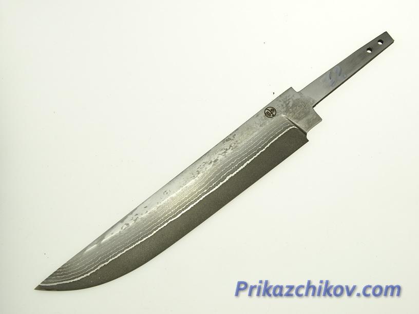 Клинок для ножа из ламинированной стали N 72