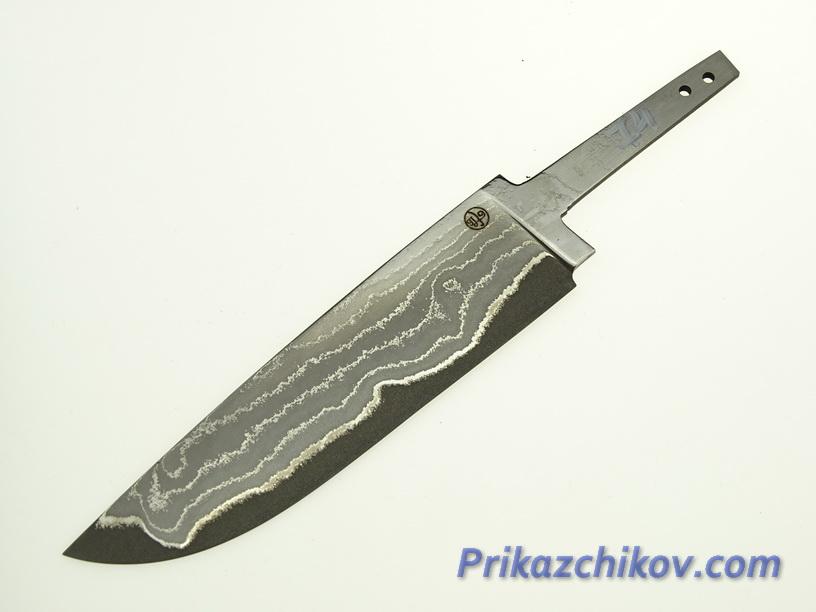 Клинок для ножа из ламинированной стали N 74