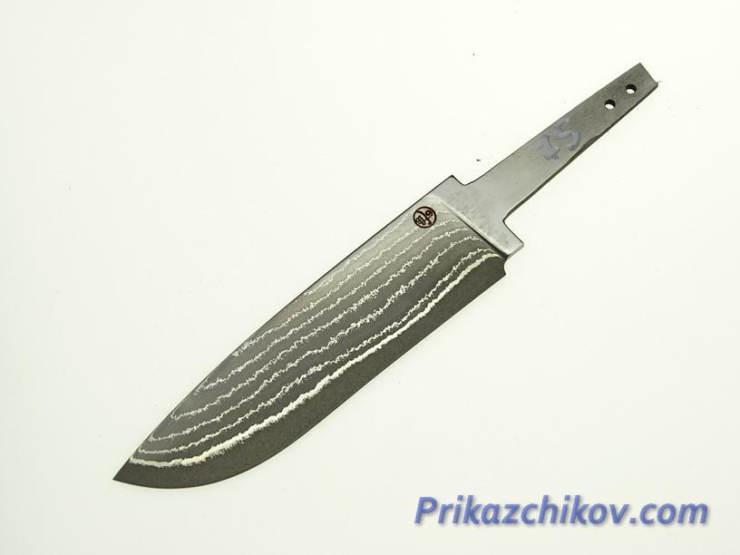 Клинок для ножа из ламинированной стали N 75