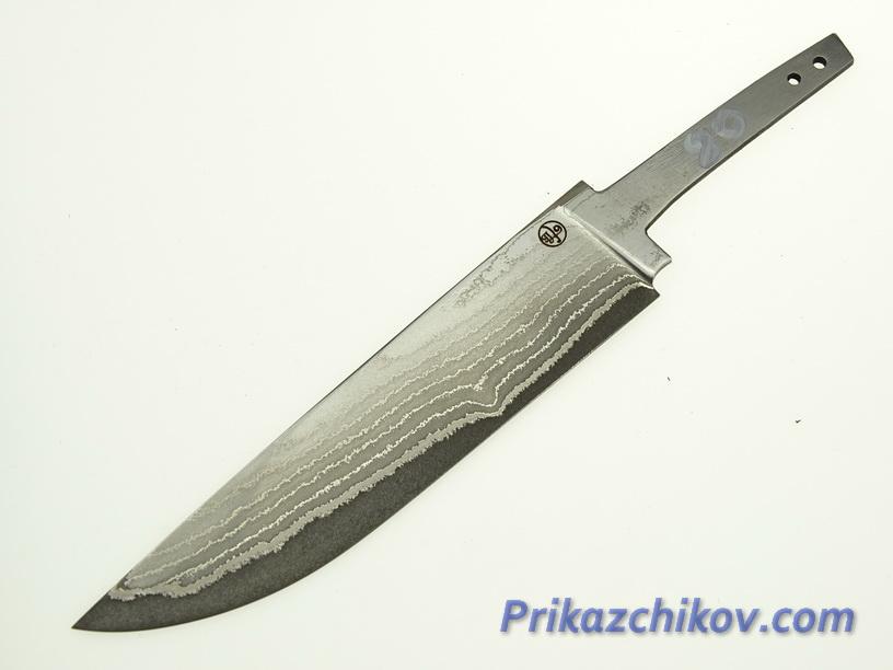 Клинок для ножа из ламинированной стали N 80