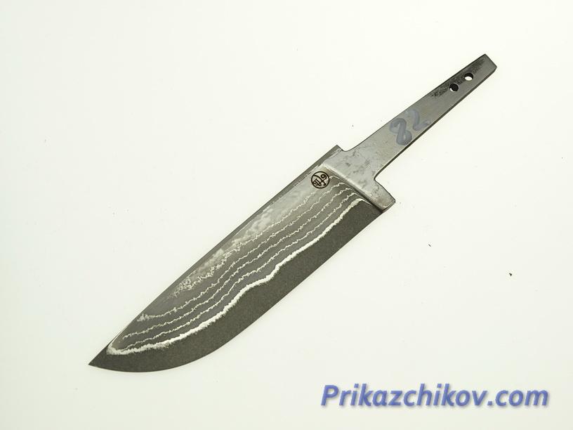 Клинок для ножа из ламинированной стали N 82