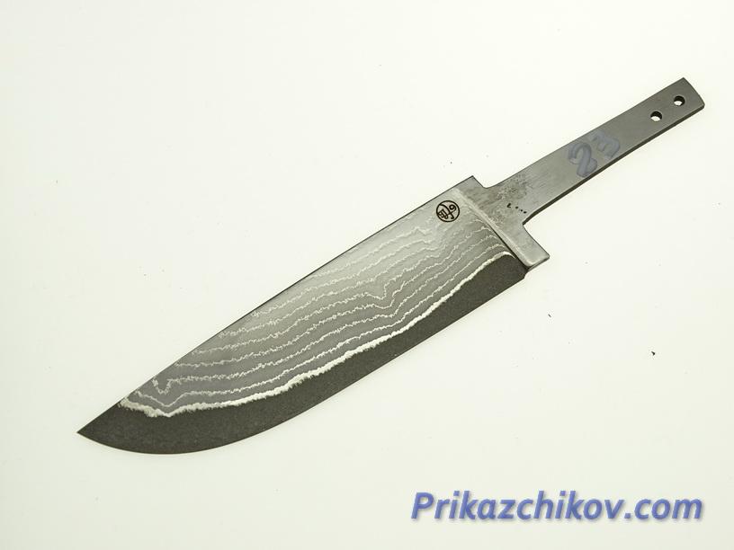Клинок для ножа из ламинированной стали N 83