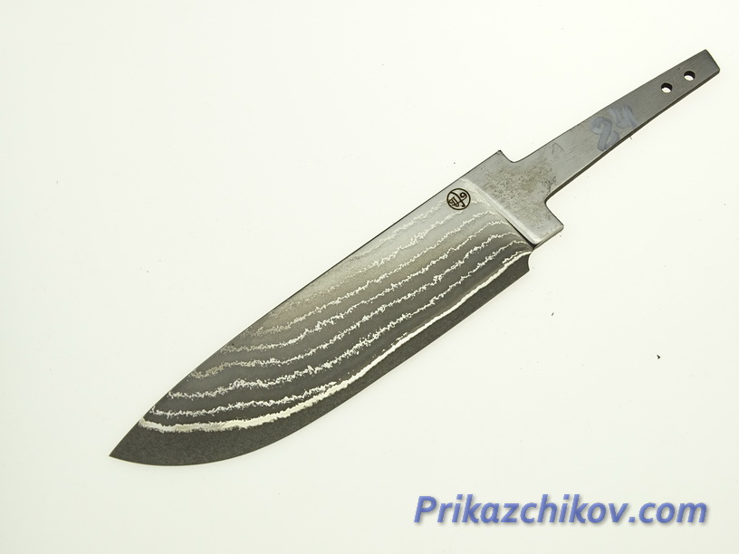 Клинок для ножа из ламинированной стали N 84