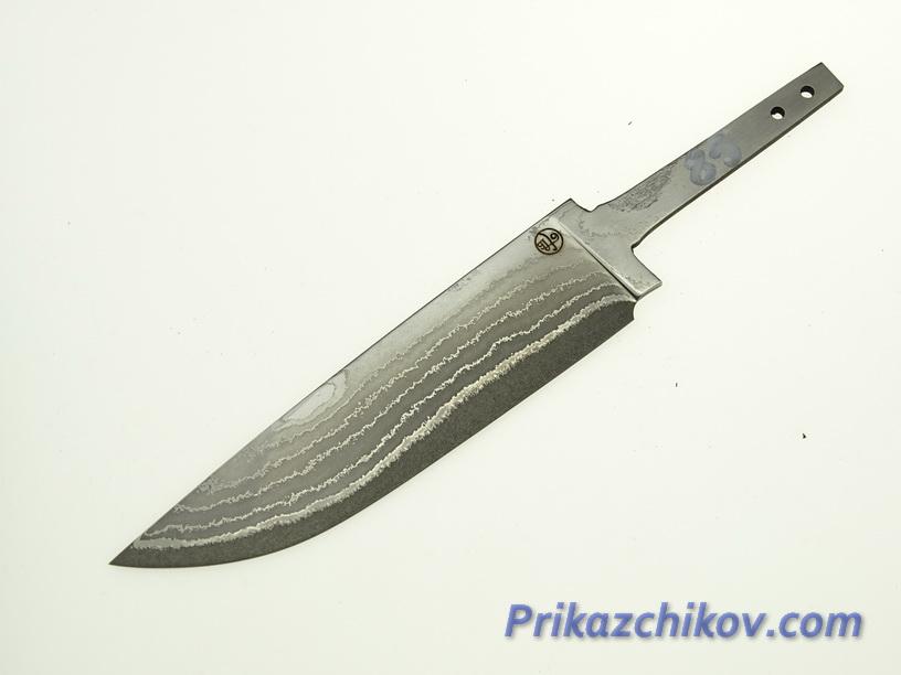 Клинок для ножа из ламинированной стали N 85