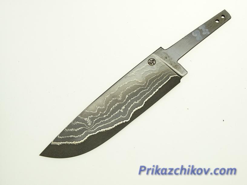 Клинок для ножа из ламинированной стали N 87