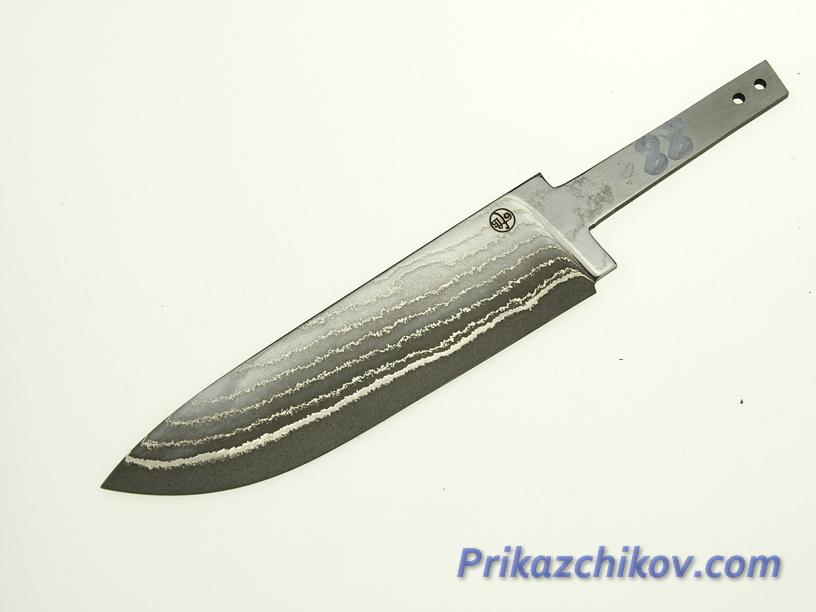 Клинок для ножа из ламинированной стали N 88