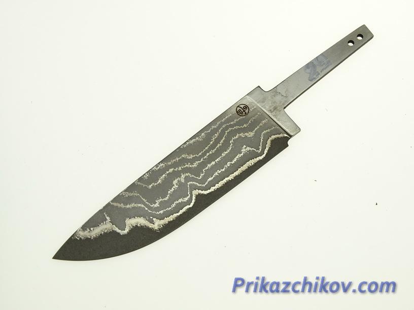 Клинок для ножа из ламинированной стали N 89