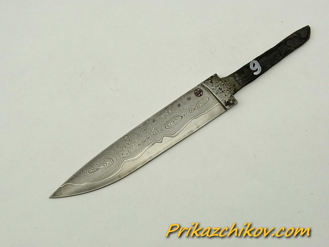 Клинок для ножа из ламинированной стали N 9