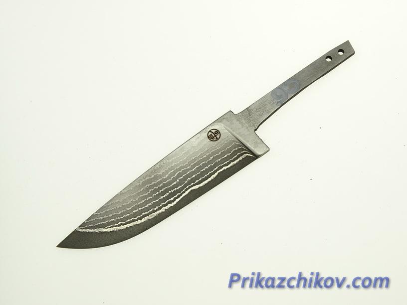 Клинок для ножа из ламинированной стали N 90
