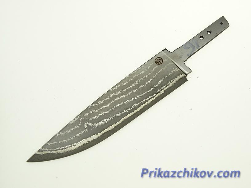 Клинок для ножа из ламинированной стали N 91