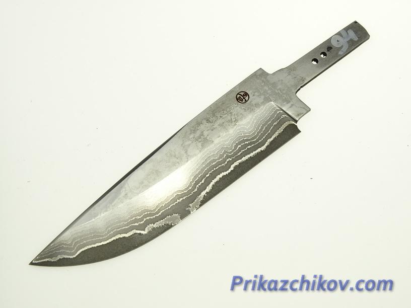 Клинок для ножа из ламинированной стали N 94