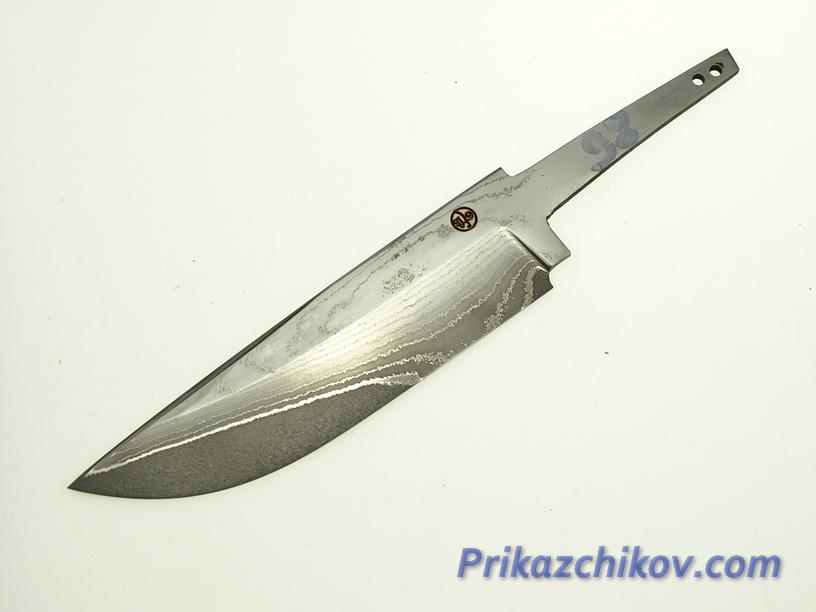 Клинок для ножа из ламинированной стали N 98