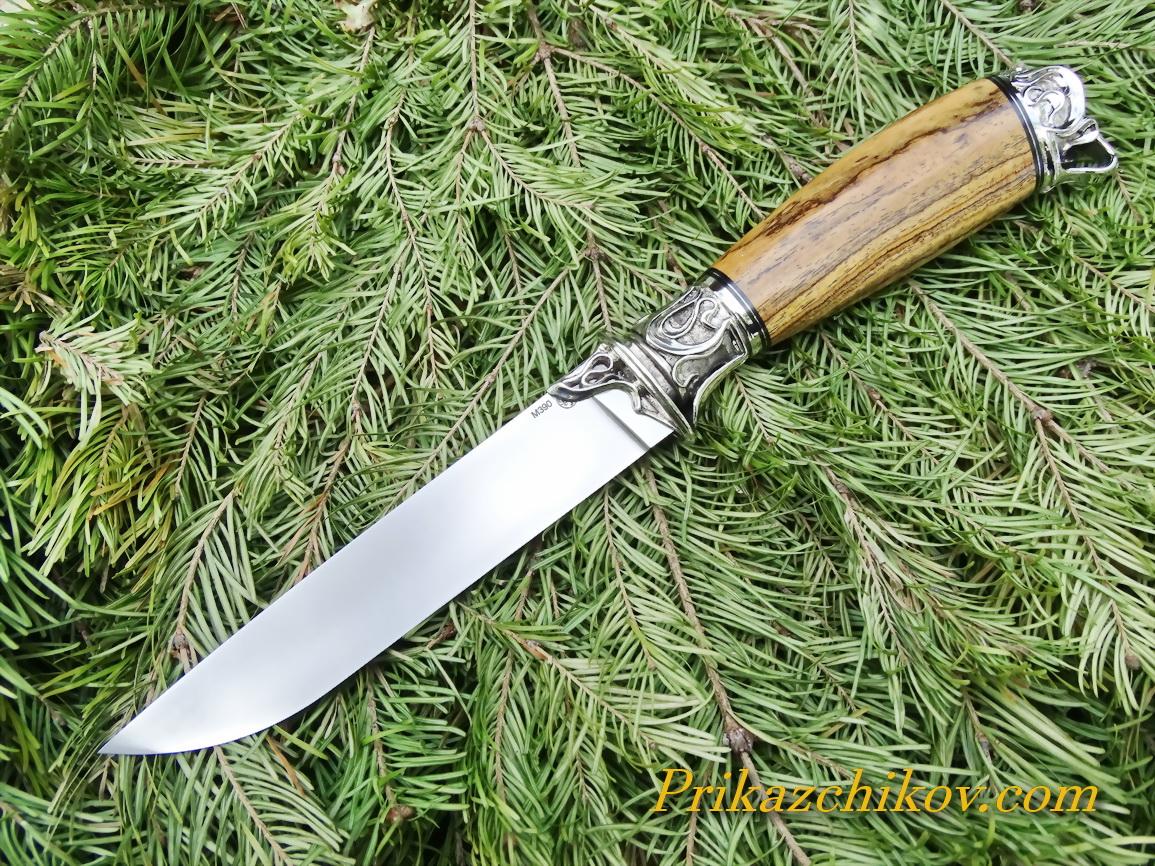 Нож из порошковой стали Bohler M390  N4