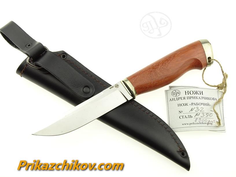 Нож из порошковой стали Bohler M390  N6