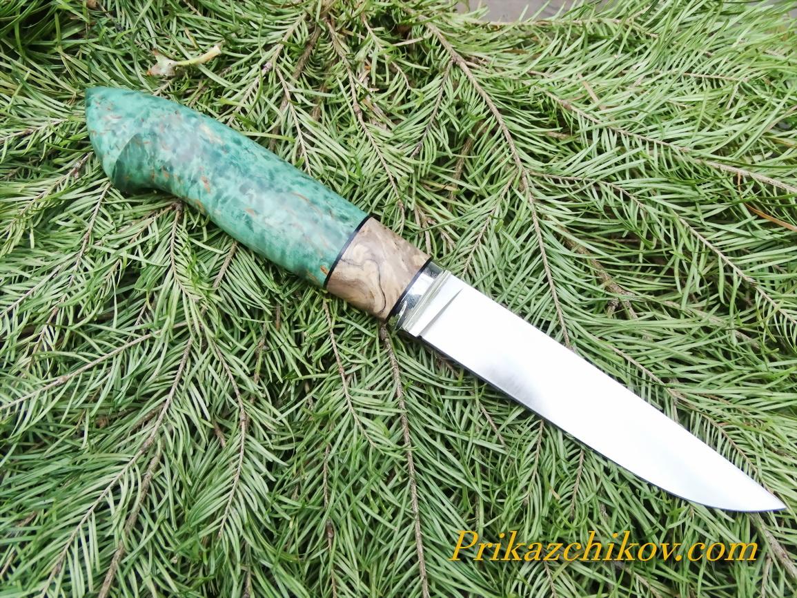 нож из ламинированной стали