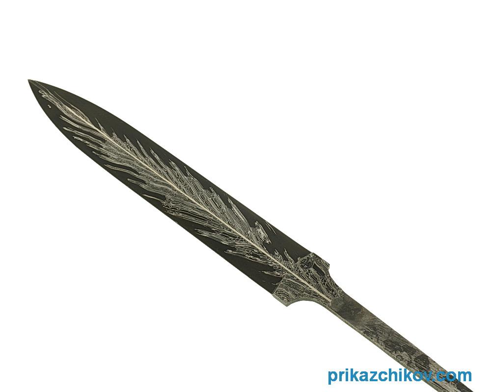 Клинок из сложной ламинированной стали N1