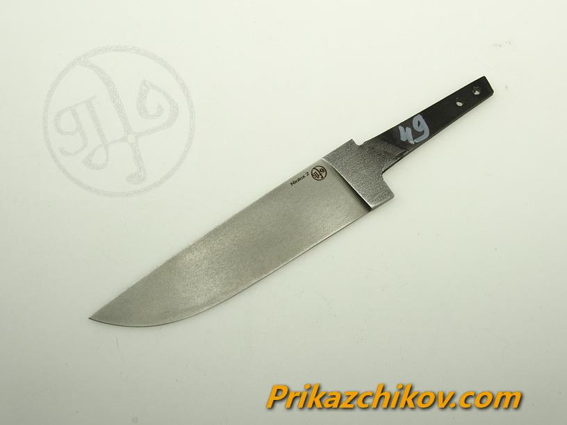 Клинок для ножа из стали Lohmann Niolox 2 (Lo-R 4197) N 49