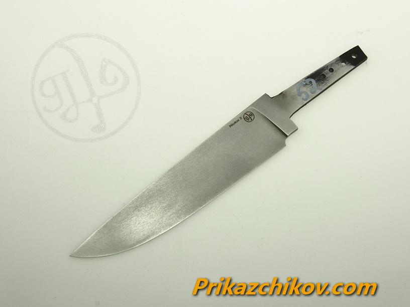 Клинок для ножа из стали Lohmann Niolox 2 (Lo-R 4197) N 52