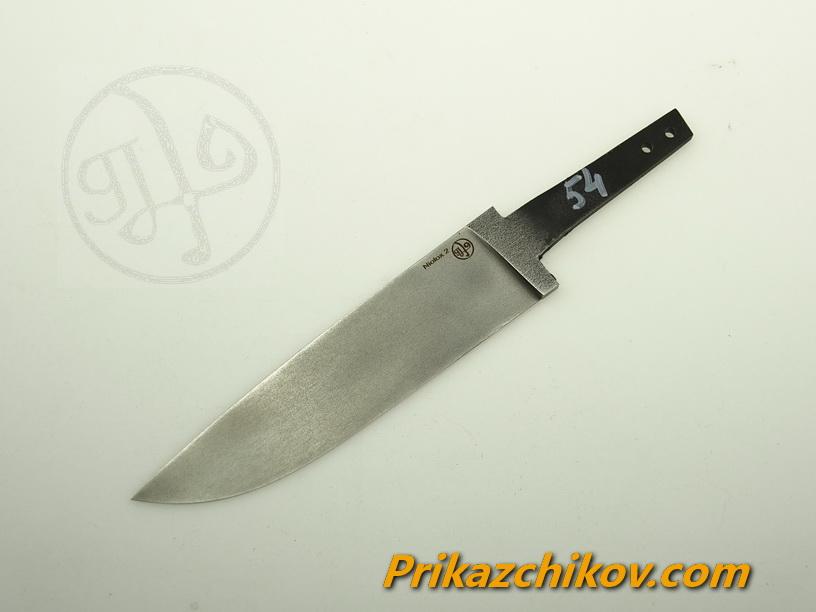 Клинок для ножа из стали Lohmann Niolox 2 (Lo-R 4197) N 54