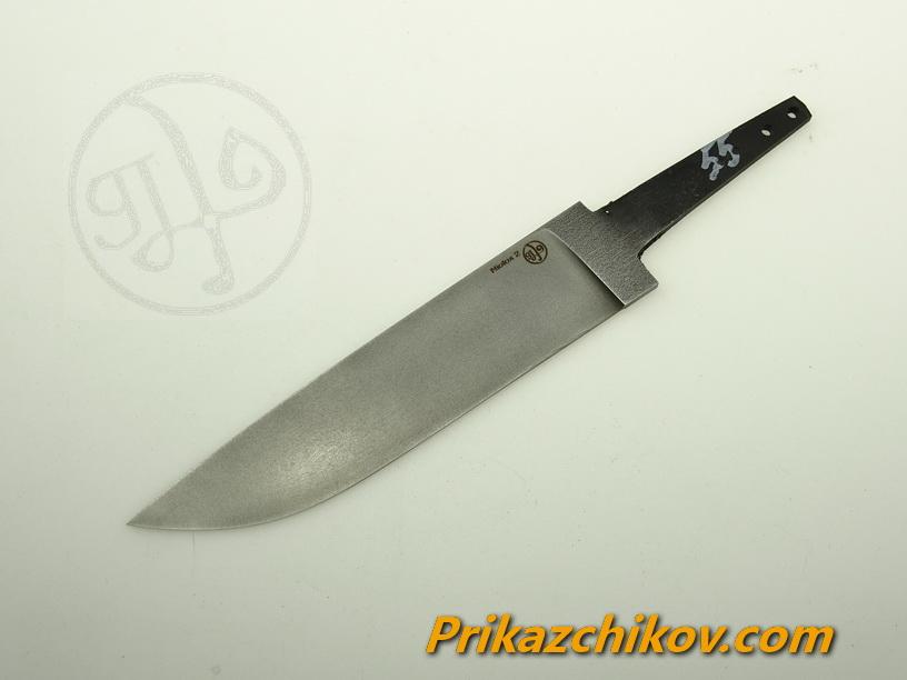 Клинок для ножа из стали Lohmann Niolox 2 (Lo-R 4197) N 55