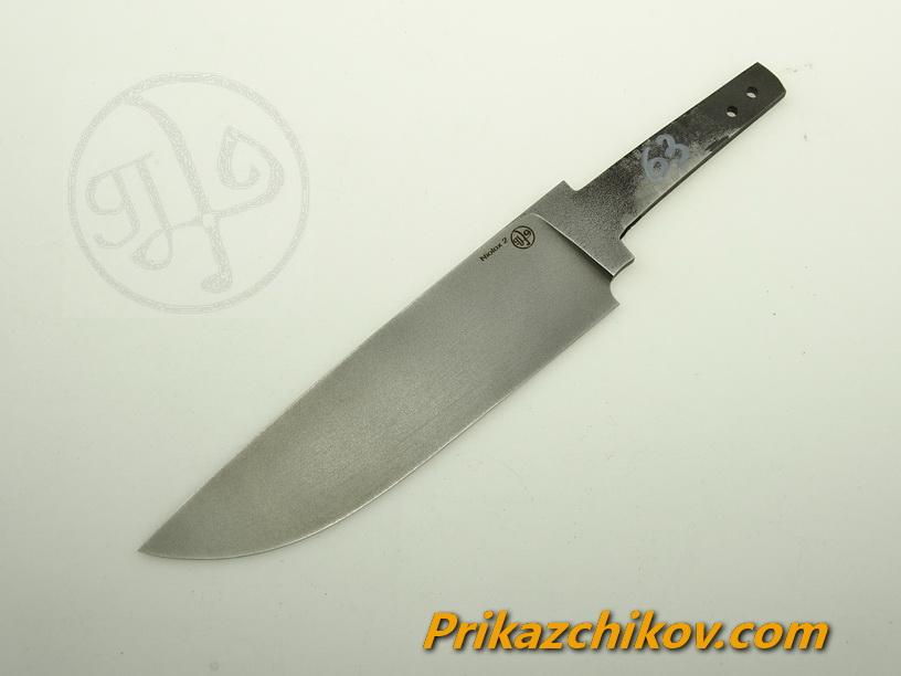 Клинок для ножа из стали Lohmann Niolox 2 (Lo-R 4197) N 63